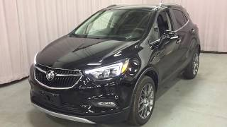 Ebony Twilight Metallic 2018 Buick Encore AWD 4dr Sport Touring Review Oshawa null - Mills Motors Bu