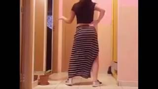 Dance Way Way 2017    فتاة ترقص الواي واي روعة