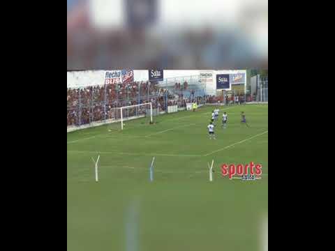 Impresionante gol de arco a arco, en el partido entre Gimnasia y Tiro vs San Antonio.