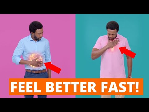 FEEL BETTER FAST! (Gaviscon Double Action – INSTANT RELIEF From Heartburn And Indigestion)