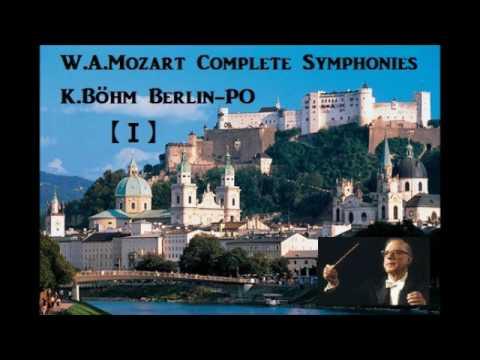 W.A.Mozart Complete Symphonies Vol.1 [ K.Böhm Berlin-PO ]
