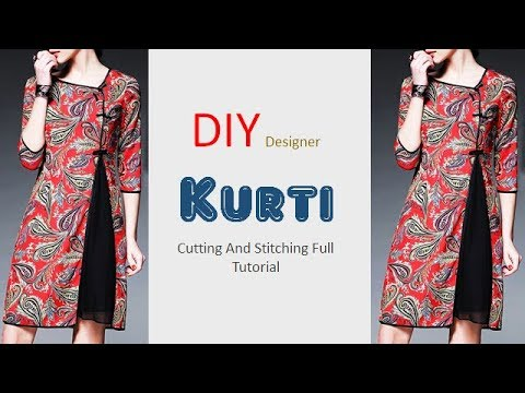 how to make kaftan from dupatta