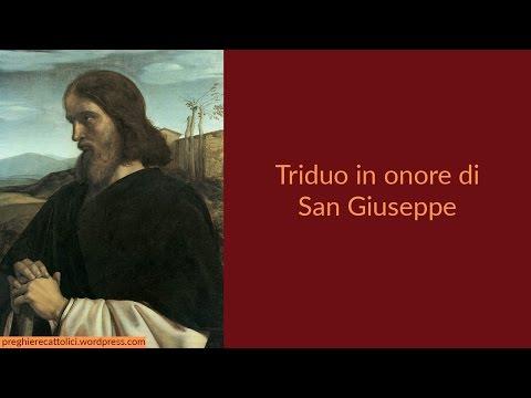 Triduo in onore di San Giuseppe