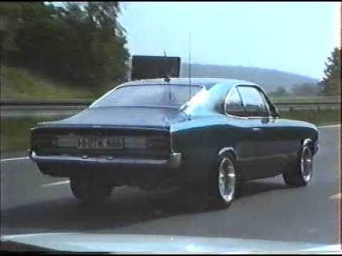 opel rekord c coupe auf der bab youtube. Black Bedroom Furniture Sets. Home Design Ideas