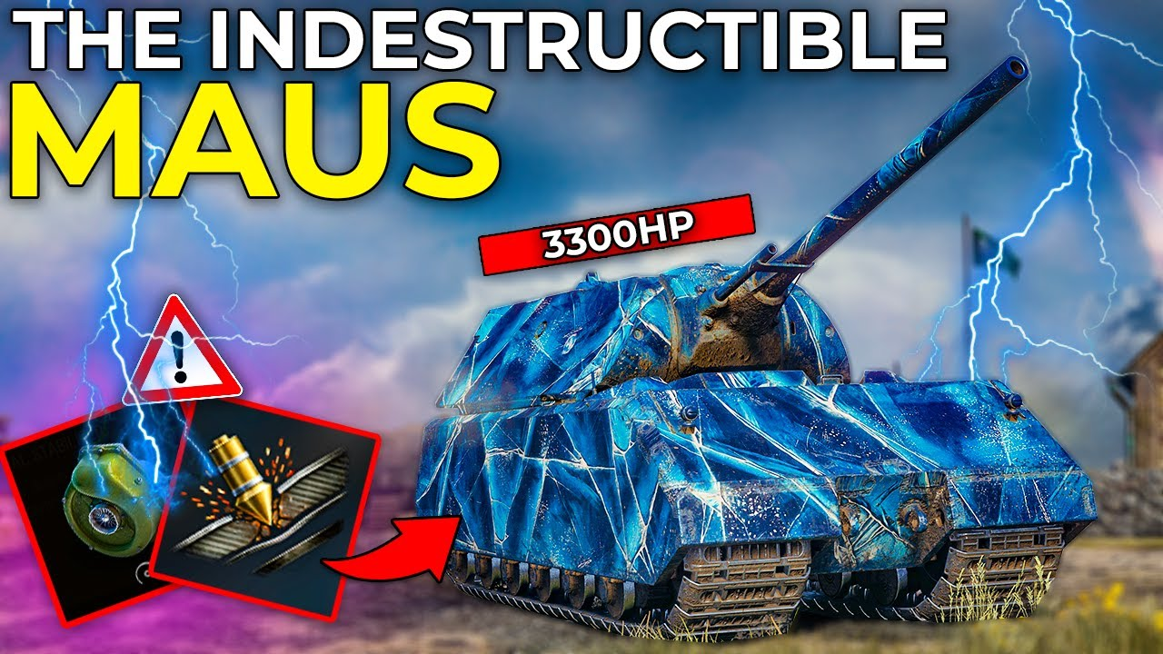 I Built The UNBREAKABLE Fast Maus ? | World of Tanks Maus Gameplay