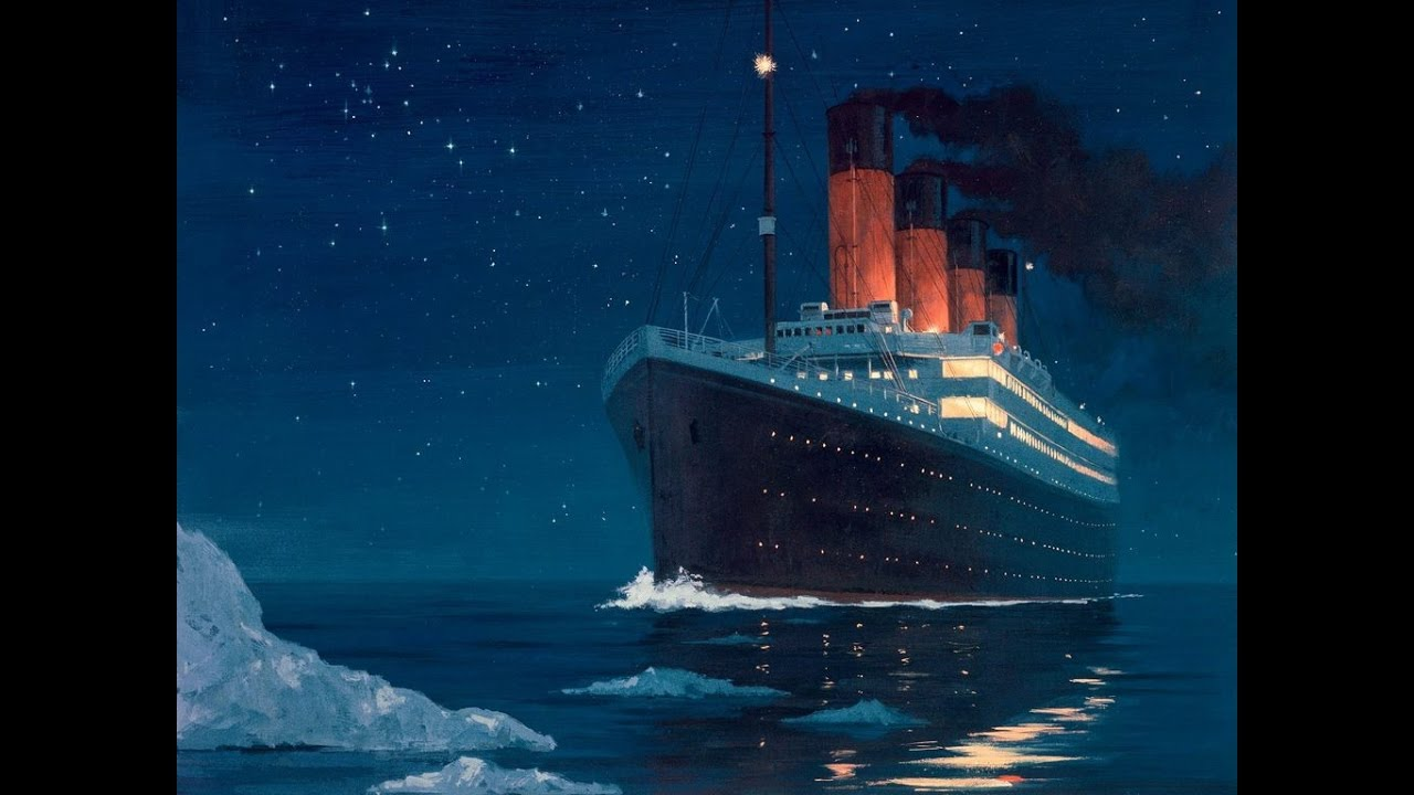 T tan k hakkinda her ey youtube - Dessin du titanic ...