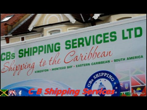 C B Shipping Services To Caribbean - Jamaican Videos
