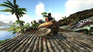 ARK: Survival Evolved - Выживание на НОРЕ. # 8.Плот и пелагорнис.