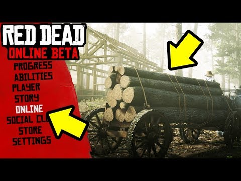 OWN A LUMBER MILL IN RDR2 ONLINE? RED DEAD REDEMPTION 2 UPDATE SPECULATION, DLC, & MORE! thumbnail