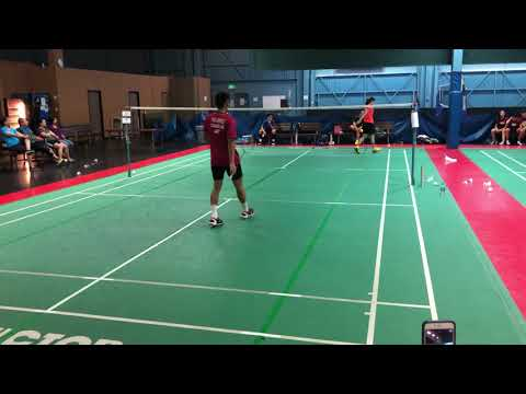 Aya Ohori Vs Ho-Shue US Open 2018 Badminton Training Friendly Game Warm Up SG2