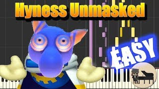 🎵 EASY Vs. Hyness Unmasked (Phase 2) - Kirby Star Allies [Piano Tutorial] (Synthesia) HD Cover