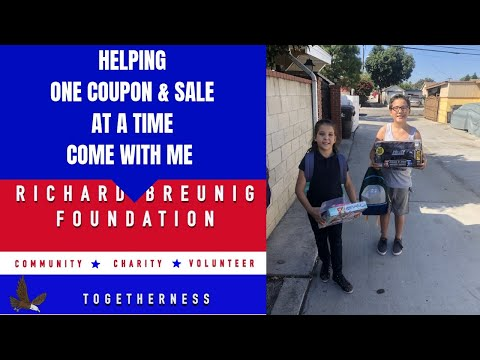 From Extreme Couponing to Extreme Giving