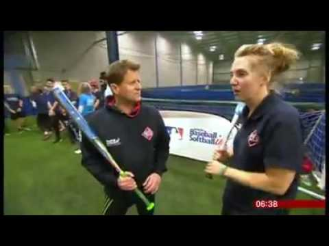 BBC Breakfast at the Manchester Indoor Softball League - 12/11/2016