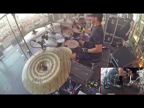ROADKILL - Possessed Drum Cam Footage.