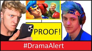 Tfue vs Ninja  BOXING!  #DramaAlert - Talked to Tfue & Ninja! -