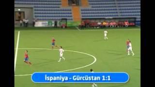 Aleko Chakvetadze's Goal against Spain(U17); Caspian Cup
