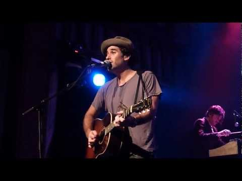 Joshua Radin  Closer acoustic @ Kulturkirche Cologne  Köln Germany 23092012