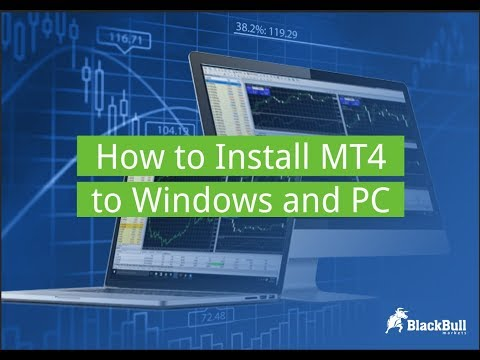 How To Install Mt4 To Windows Pc Blackbull Markets Youtube