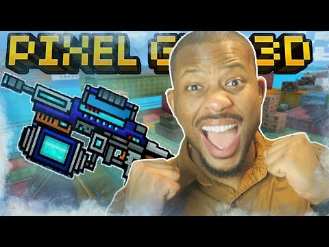 FREEZING ALL THE PLAYERS!! | Pixel Gun 3D