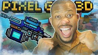 FREEZING ALL THE PLAYERS!!   Pixel Gun 3D