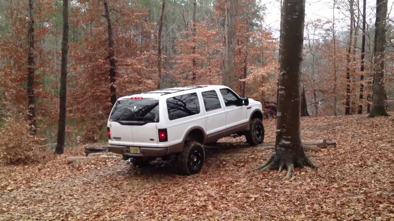 7 3 Ford Excursion Off Road Youtube