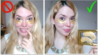 Testing Beauty Products | Crystal Collagen Gold Eye Mask!