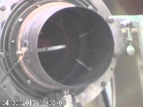 Turbine BioFuel Plasma Burn