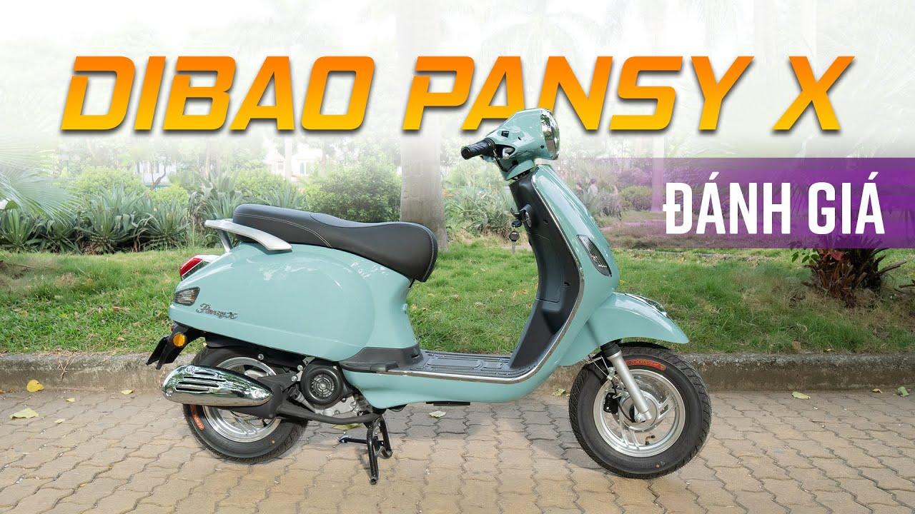 Xe tay ga 50cc giá 22 triệu - đẹp mà không cần bằng lái - Dibao Pansy X