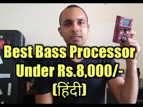 Best Bass Guitar Processor :ZOOM MS-60B REVIEW(Hindi)