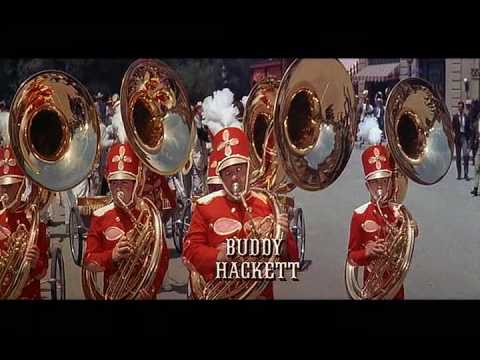 "The Music Man ""Seventy-Six Trombones"" (finale) + lyrics link"
