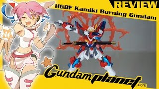 gundam planet review hgbf kamiki burning gundam