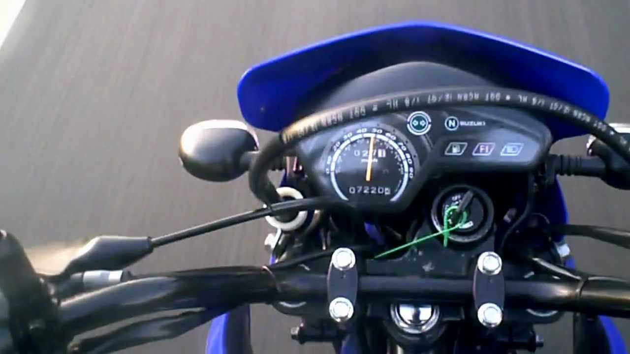 suzuki dr125 sm k9 micro review - youtube
