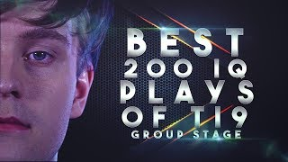 BEST 200 IQ Plays & Outplays of TI9 THE INTERNATIONAL 2019 Group Stage - Dota 2