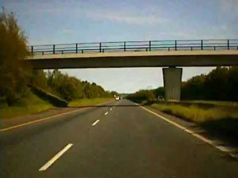 Road trip from Mullingar Co. Westmeath to Dublin City