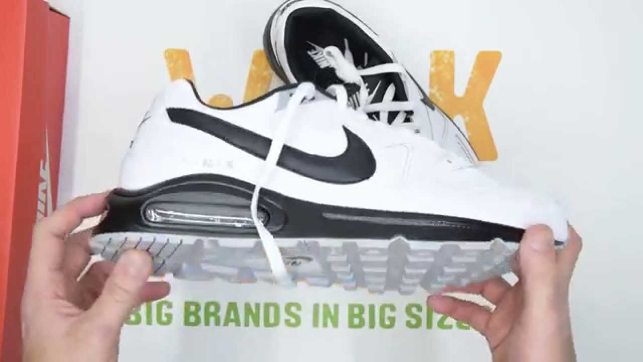 new styles ca10d d780d Nike Air Max Command Leather - White   Black - Walktall   Unboxing ...
