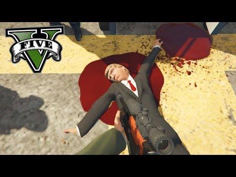 ¿Qué pasa si matas a DONALD TRUMP en GTA 5? - Grand Theft Auto V