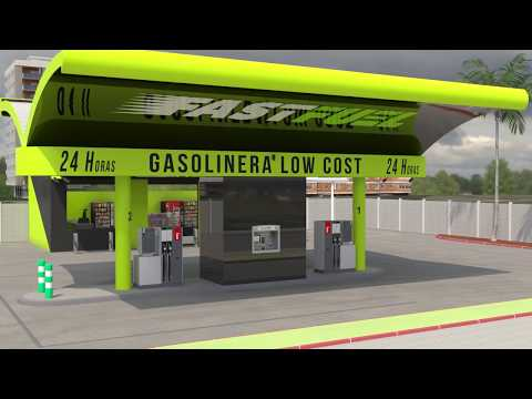 Fast Fuel Franquicias de gasolineras Low Cost
