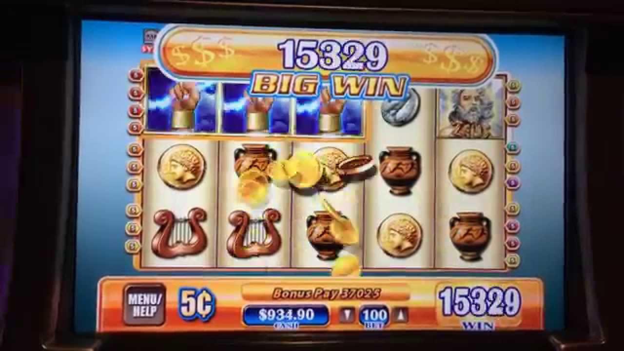 Zeus Slot Machine Jackpot
