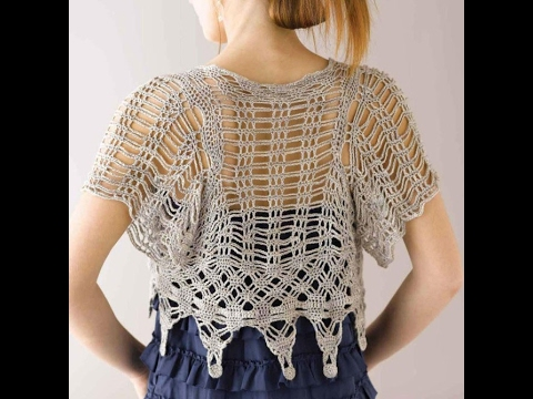 Free English Crochet Patterns For Crochet Cardigan 1559 Youtube