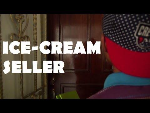 Ice-Cream seller.