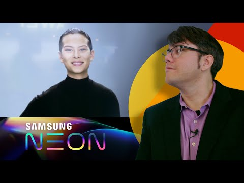 Talking With Neon AI, Samsung's Best Attempt At Being Human