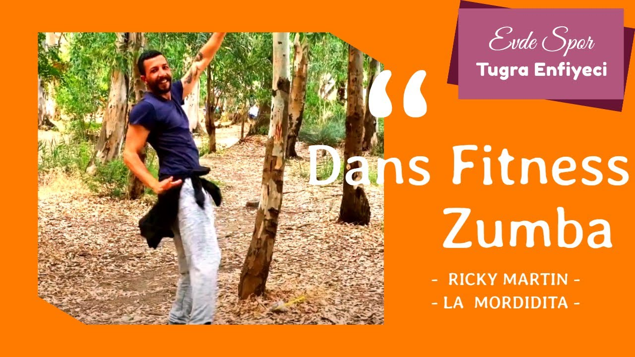 La Mordidita - Ricky Martin - Zumba Dans - Evde Spor