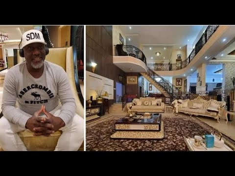 DINO MELAYE SHOW HIS NEW LUXURY MANSION IN ABUJA