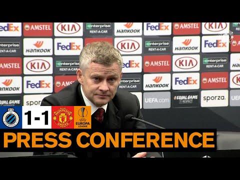 Ole Gunnar Solskjaer | Post Match Press Conference | Club Brugge 1-1 Manchester United