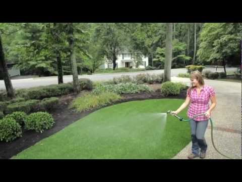 synlawn diy installation instructions youtube. Black Bedroom Furniture Sets. Home Design Ideas