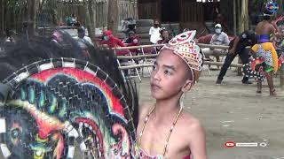 Seni Jathilan Bekso Mudho Cahyo Manunggal babak pembuka tampil di wisata Setren Opak