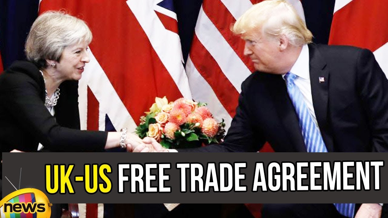 British Pm Theresa May And Trump To Discuss About Uk Us Free Trade