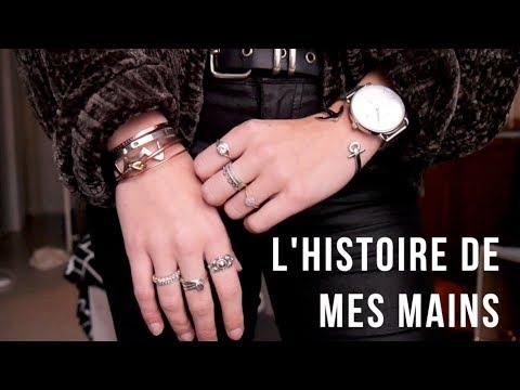 c'est l'histoire de mes mains