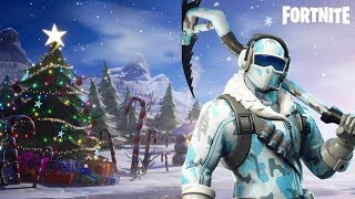 Fortnite Season 7 Snow Map, New Skins • Fortnite Gameplay Live