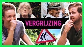 KINDEREN FOKKEN tegen VERGRIJZING? - Comedians Solve World Problems
